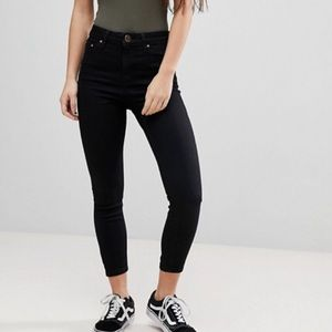 ASOS Petite Ridley High Waisted Skinny Jeans